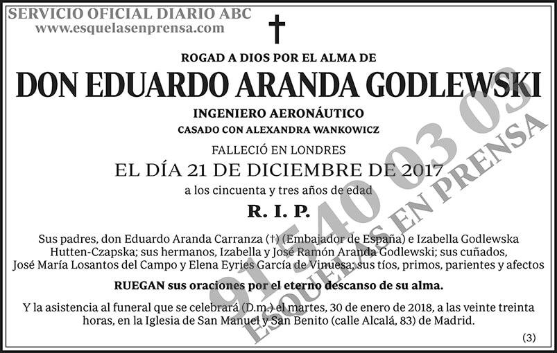 Eduardo Aranda Godlewski